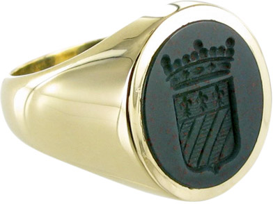 Gemstone Signet Rings | Bloodstone, Cornelian | Signets and Cyphers